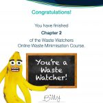 online waste education