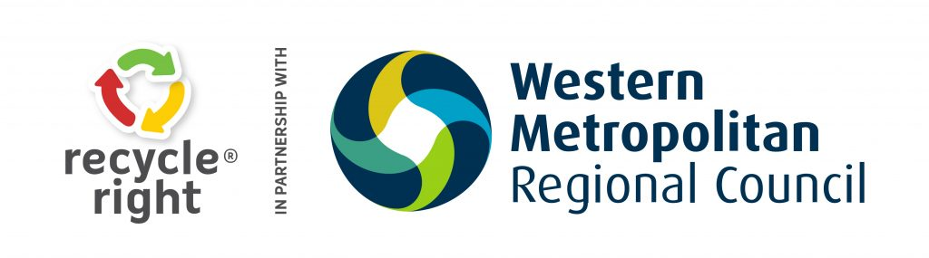Recycle Right and Western Metropolitan Regional Council working together to help you manage your waste wisely