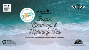 Plastic Free July Beach Clean Up and Morning Tea